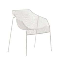 Chaise et petit fauteuil extérieur Petit fauteuil HEAVEN EMU