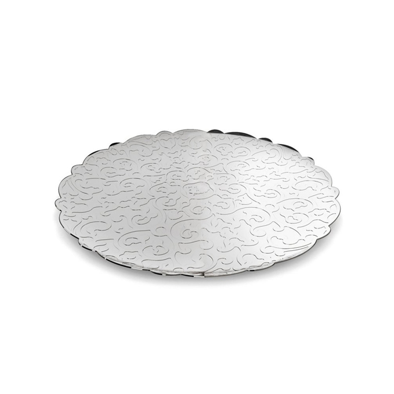 Accueil Alessi Plateau rond DRESSED