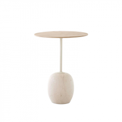 Table d'appoint guéridon LATO LN8 AND TRADITION