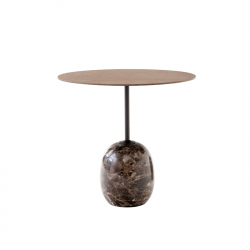 Table d'appoint guéridon LATO LN9 AND TRADITION