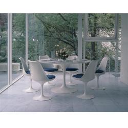 Table Knoll SAARINEN marbre Arabescato