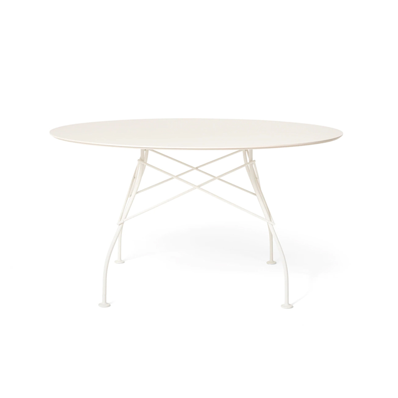 Table et table basse extérieur Kartell GLOSSY OUTDOOR Ø 128