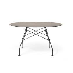 Table et table basse extérieur GLOSSY OUTDOOR Ø 128 KARTELL