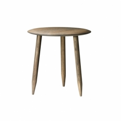 Table d'appoint guéridon HOOF TABLE Ø 50 AND TRADITION