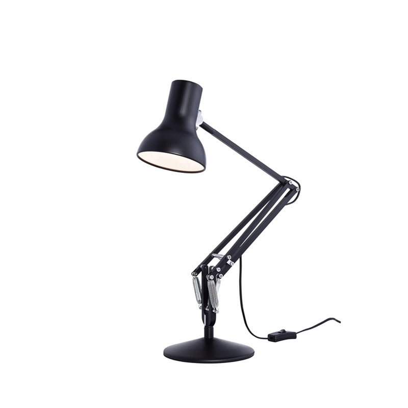 type 75 mini lampe de bureau anglepoise silvera. Black Bedroom Furniture Sets. Home Design Ideas