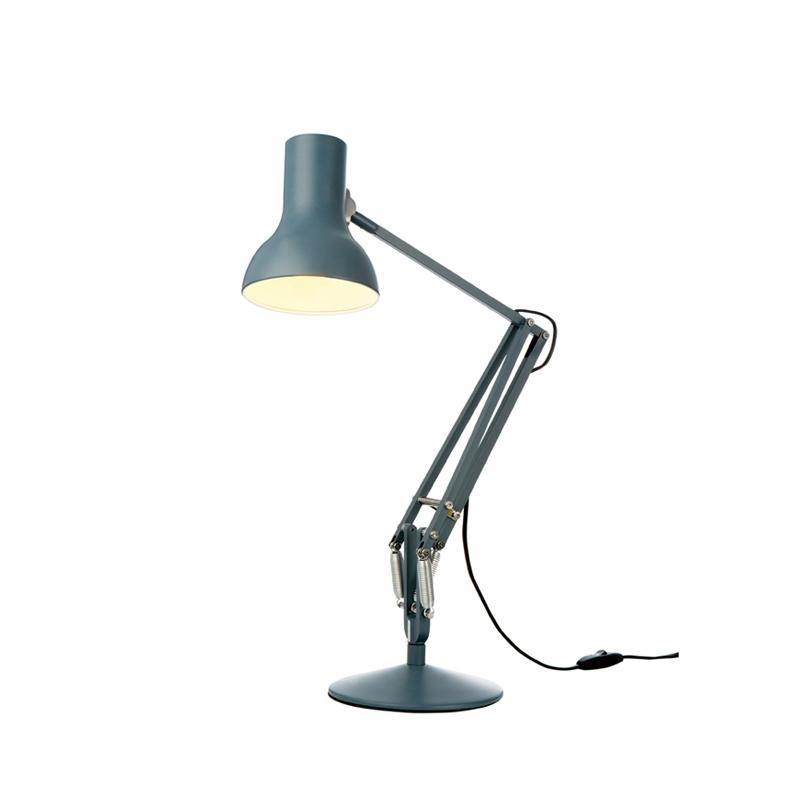 type 75 mini lampe de bureau anglepoise silvera. Black Bedroom Furniture Sets. Home Design Ideas