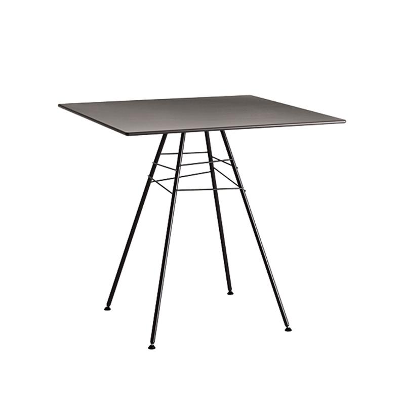 Table et table basse extérieur Arper LEAF TABLE 79x79