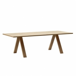 Table CROSS 240x100 chêne ARPER