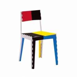 Chaise STITCH multicolore CAPPELLINI