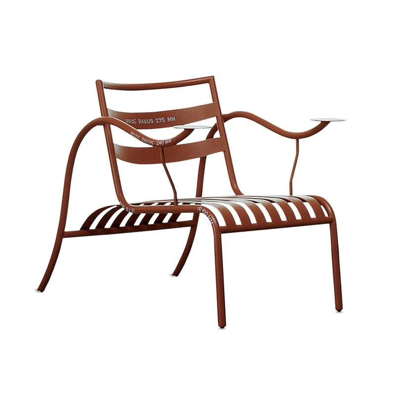 Fauteuil Cappellini THINKING MAN'S CHAIR