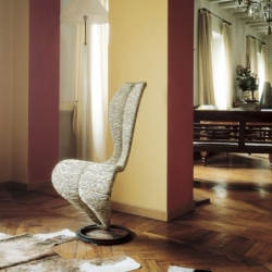 Chaise Cappellini S-CHAIR paille