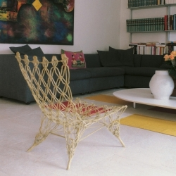 Fauteuil Cappellini KNOTTED CHAIR