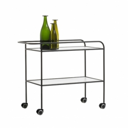 Table roulante STEEL PIPE DRINK TROLLEY CAPPELLINI
