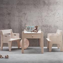 Table & bureau Carl hansen Table enfant PETER CH411