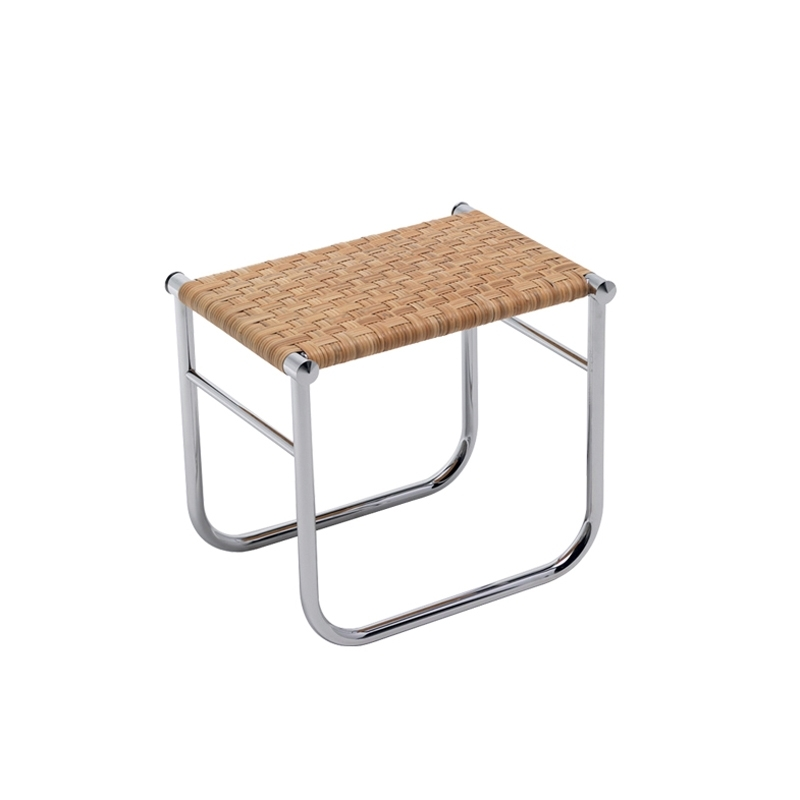 Tabouret Cassina LC9 Rotin