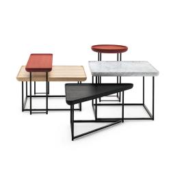 Table basse Cassina 381 TOREI carrée 61x61 H 41 marbre