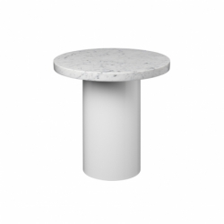 Table d'appoint guéridon CT09 ENOKI Ø 40 x H 40 E15