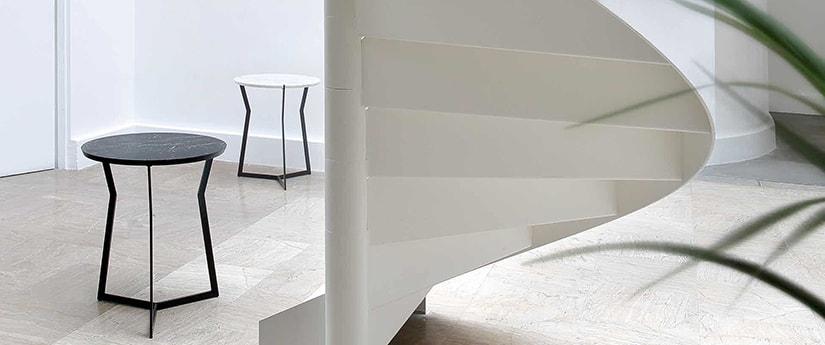SPARKLE Tables d'appoint Miroir Verre Métal Habitat