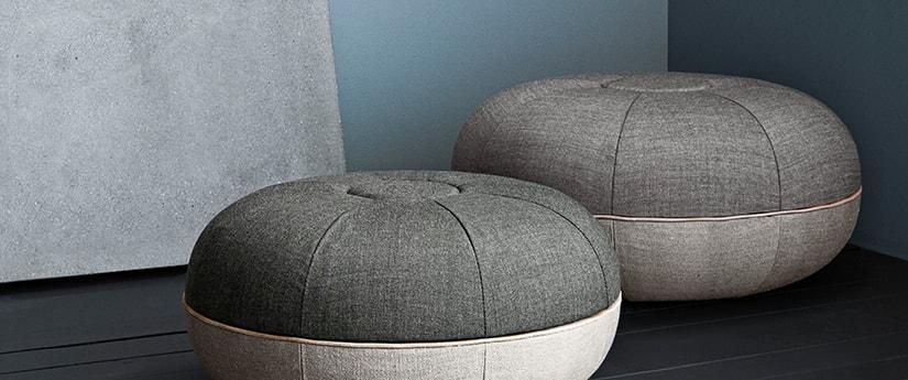 Pouf Design & Mobilier Design | Silvera Eshop