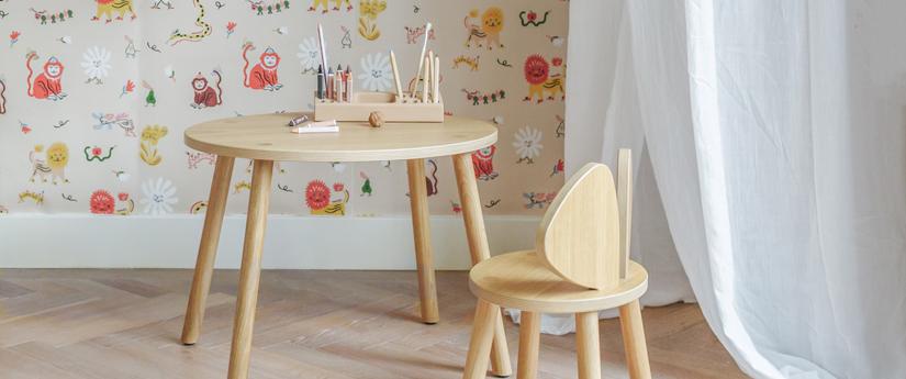 Bureau Design pour enfants, table pour enfant | Silvera Eshop