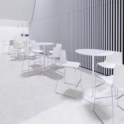 Table Haute pour Bureau et Espace Professionnel - Silvera Pro