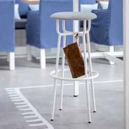 Tabouret Design pour Bureau et Espace Professionnel - Silvera Pro