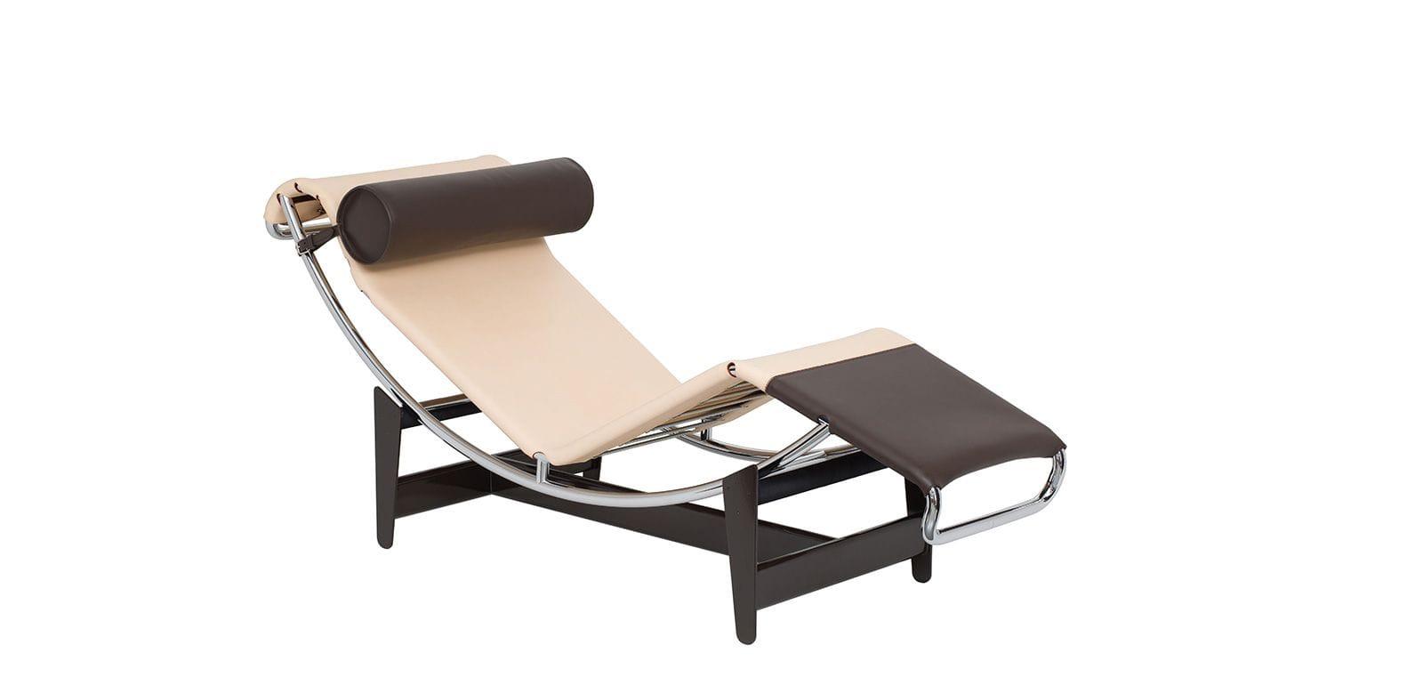 dition limit e de la chaise longue lc4 lv de cassina silvera. Black Bedroom Furniture Sets. Home Design Ideas