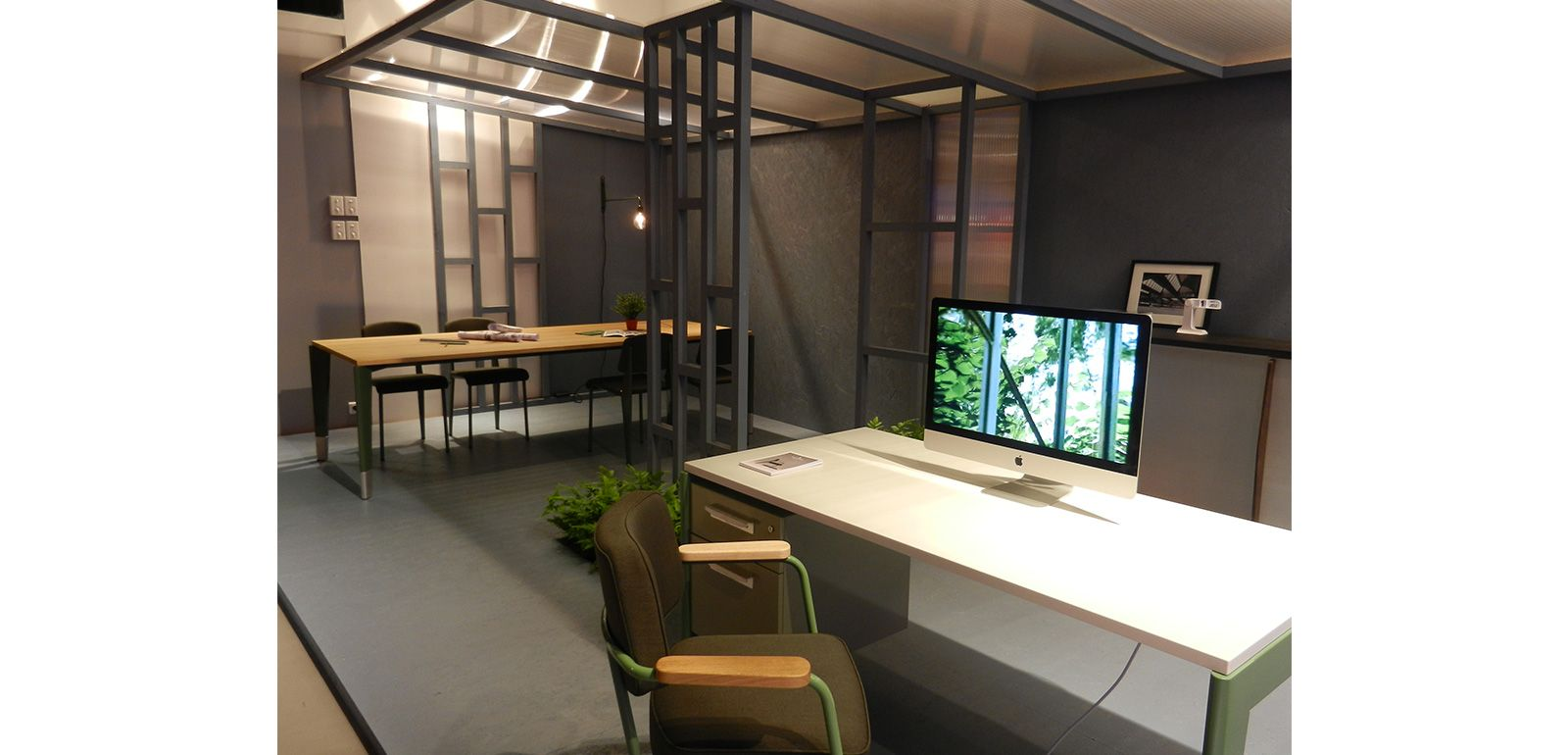 Exposition Prouve Raw Office Edition Vitra Silvera