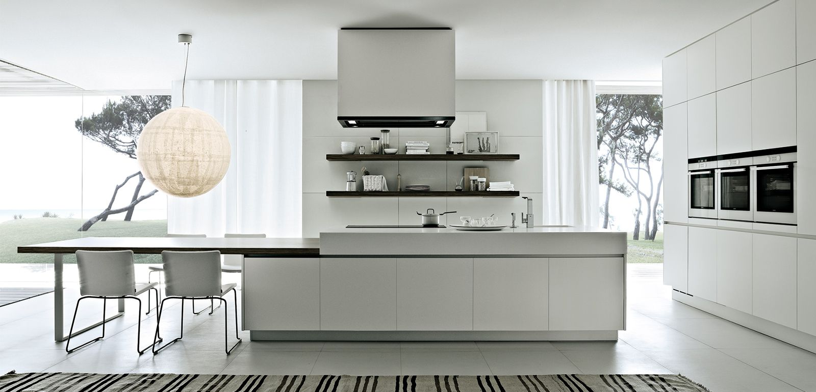 Cuisine Poliform Varenna Design Moderne Meuble De