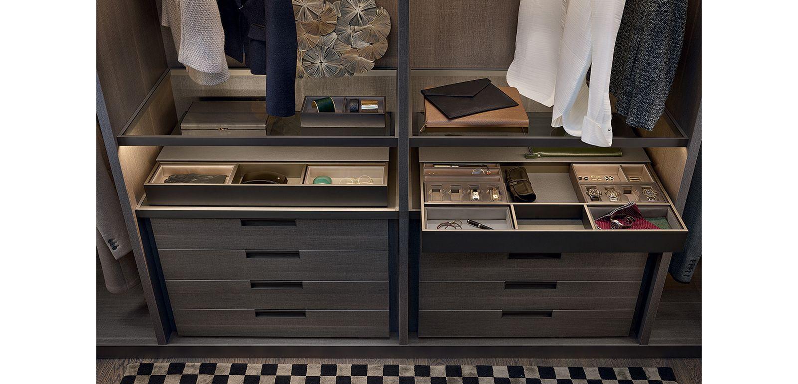 dressing poliform sur mesure am nagement dressing sur mesure silvera. Black Bedroom Furniture Sets. Home Design Ideas