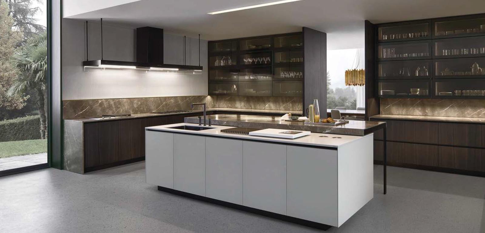 Cuisine Poliform Varenna, design, moderne, meuble de cuisine - Silvera