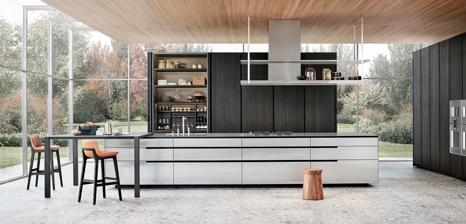 Cuisine Poliform Varenna, design, moderne, meuble de cuisine ...