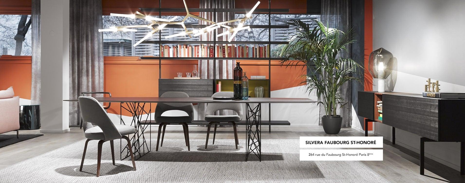 Mobilier design am nagement d 39 espace pour pro particulier silvera for Catalogue mobilier design