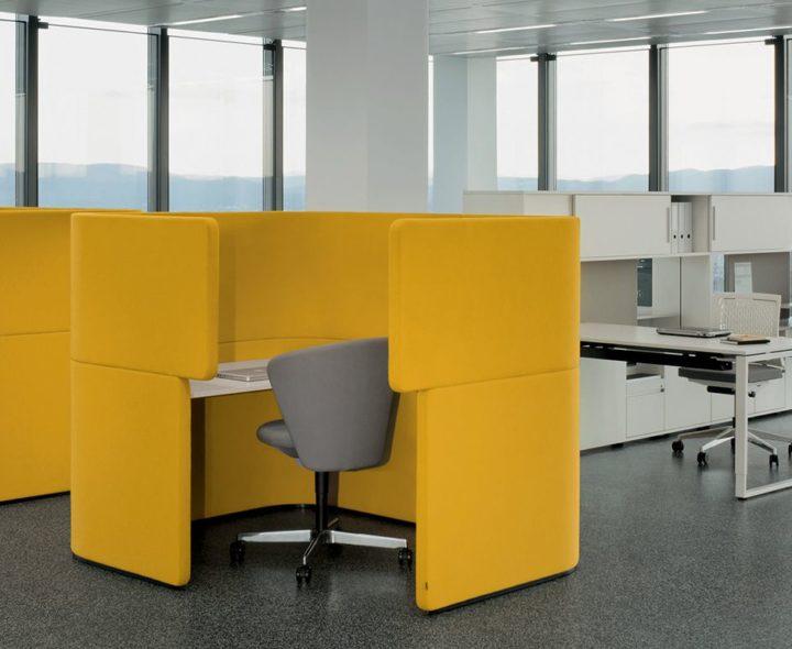 Design. PearsonLloyd - Box de travail DOCKLANDS