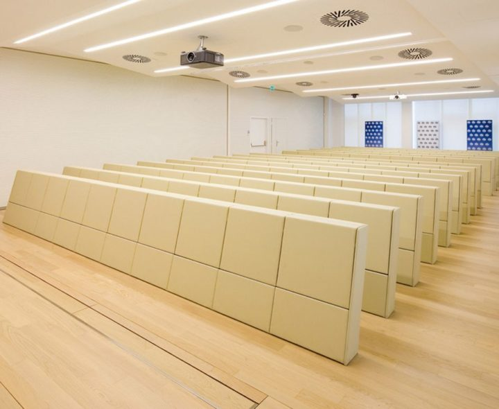 Design. Dante Bonuccelli - Fauteuils d'auditorium Genya