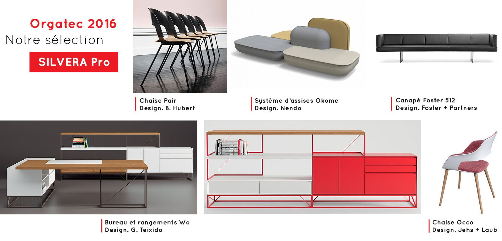 orgatec 2016 notre s lection de mobilier de bureau silvera