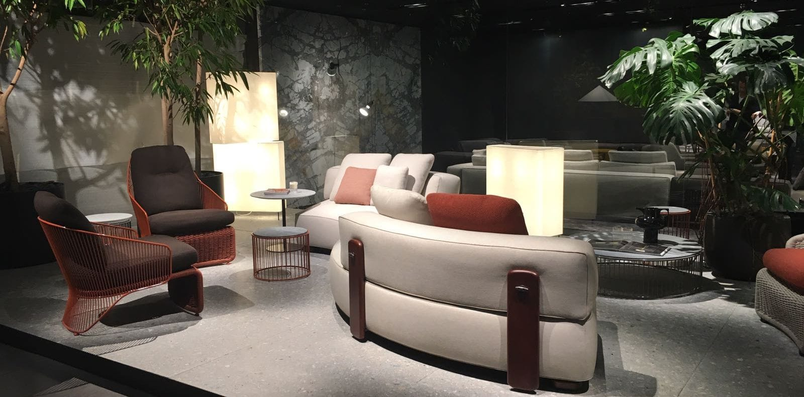 collection minotti anthologie au salon de milan silvera. Black Bedroom Furniture Sets. Home Design Ideas