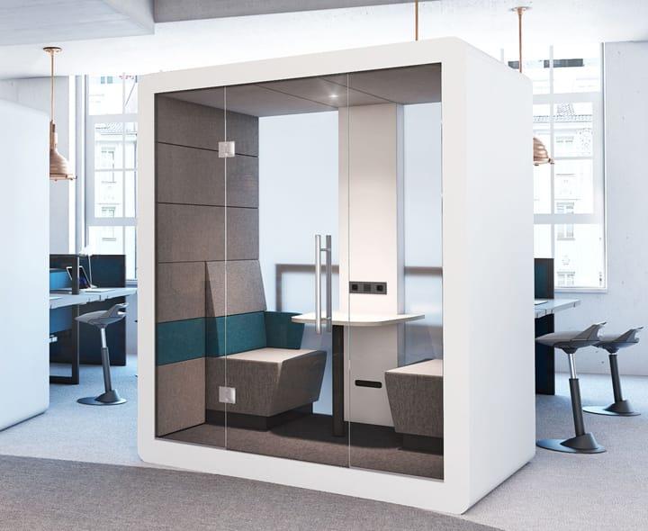 Bureau meuble design cheap conu en ce de jeancharles for Meuble bureau diy