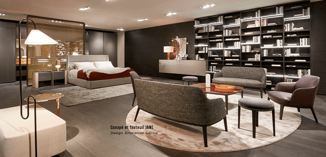 nouveautes mobilier poliform milan 2018 silvera. Black Bedroom Furniture Sets. Home Design Ideas