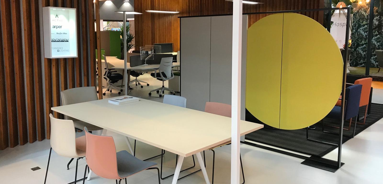 Retour en images silvera a workspace expo silvera for Salon workspace