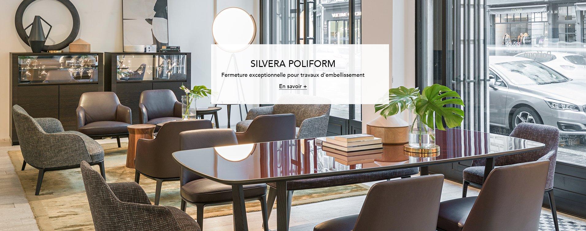Silvera meubles design et contemporain luminaire mobilier de bureau pour professionnels for Catalogue mobilier design