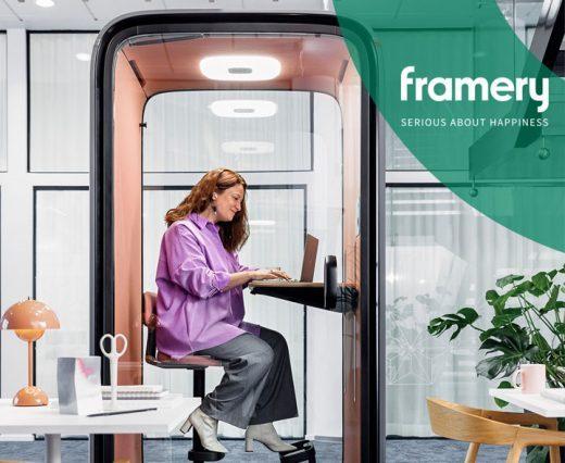 Framery One - Première cabine acoustique connectée | Silvera
